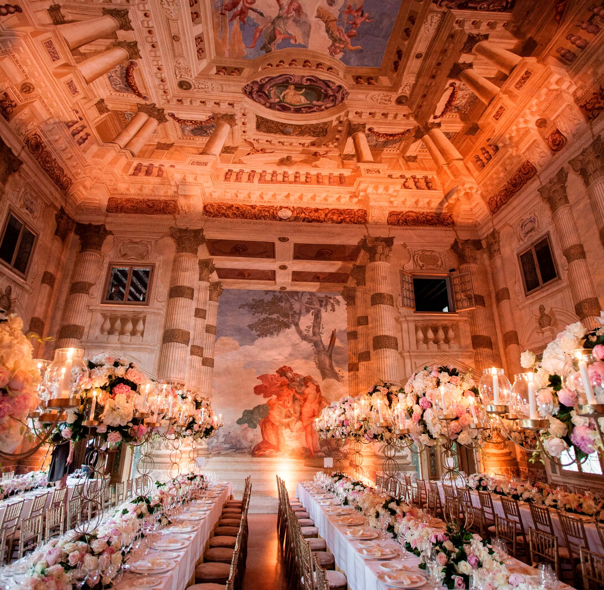 Venice villa wedding