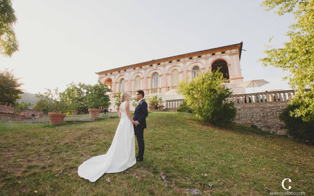 Real Wedding in Italy vineyard venue
